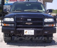 Chevrolet Heavy Duty Full Front Replacement Bumper