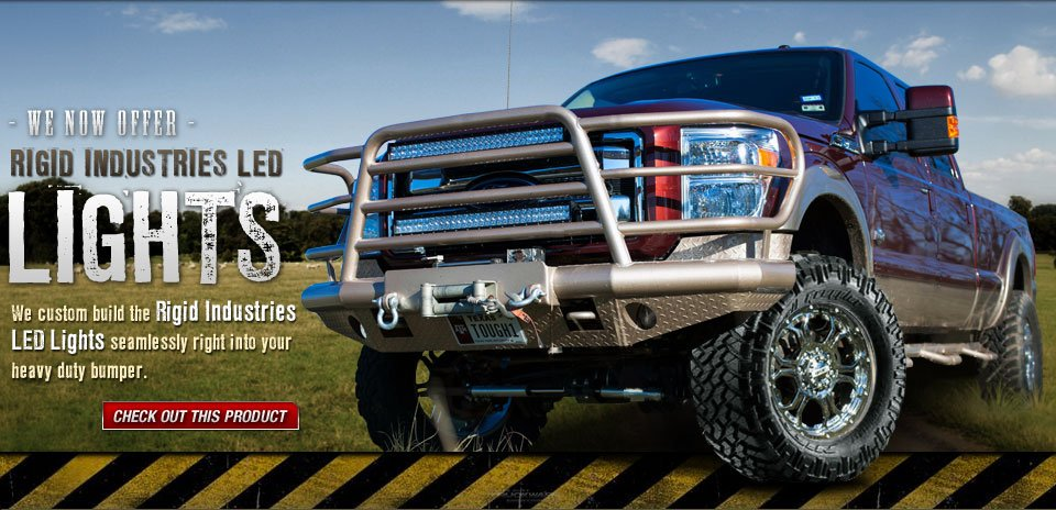 Heavy Duty Truckware | Bumpers and Accessories for Ford