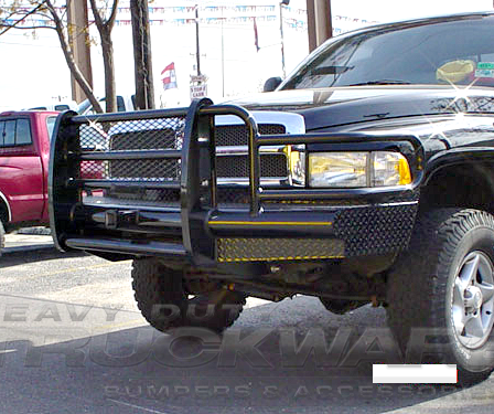 Truck Grill Guard >> Outlaw Traditional Dodge Ram 2500 3500 Heavy Duty Tough Country Outlaw Traditional Series Full ...