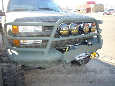 Deluxe Front Replacement Bumper Tough Country Heavy Duty GMC