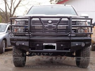 2015 2016 2017 chevy gmc 2500HD 3500HD heavy duty bumper