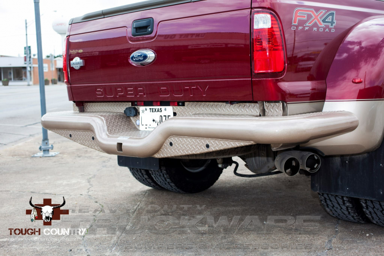 Deluxe Rear Dually Wrap (1999-2019) Ford Super Duty F250