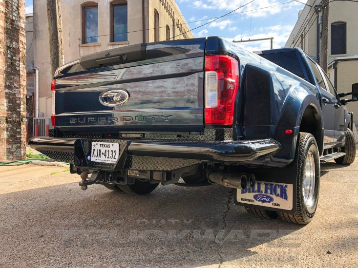Traditional Rear Dually Wrap (1999-2019) Ford Super Duty F250 F350 Heavy Duty Tough Country ...