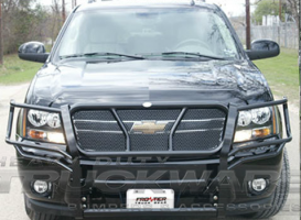 Chevrolet GMC Heavy Duty Grille Brush Guards