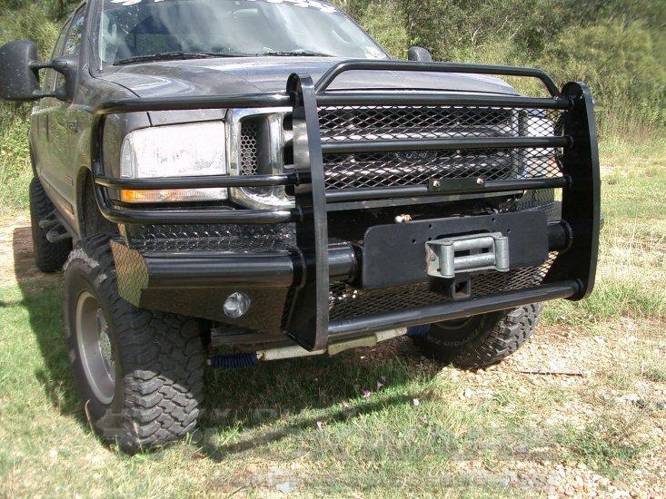 Outlaw Premium Winch Mount Ford Super Duty Heavy Duty ...
